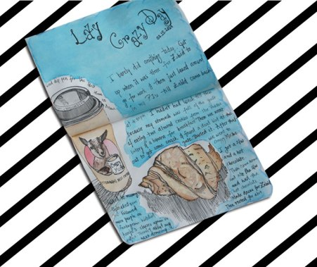 Lazy day journal entry